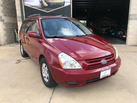 2009 Kia Sedona for sale at KAYALAR MOTORS Mechanic in Houston TX