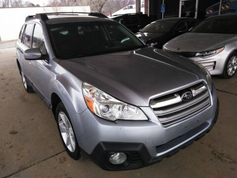 2014 Subaru Outback for sale at Divine Auto Sales LLC in Omaha NE