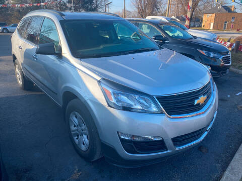 2017 Chevrolet Traverse for sale at Right Place Auto Sales in Indianapolis IN
