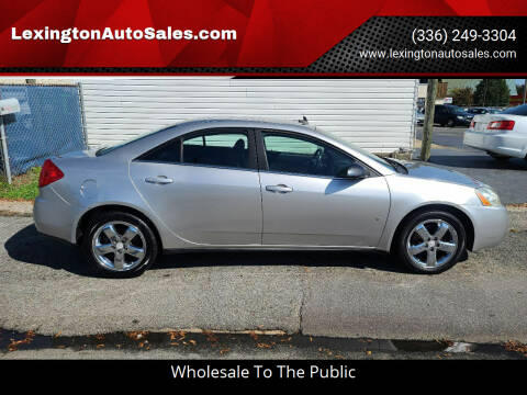 2008 Pontiac G6 for sale at LexingtonAutoSales.com in Lexington NC