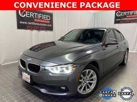 2018 BMW 3 Series for sale at CERTIFIED AUTOPLEX INC in Dallas TX