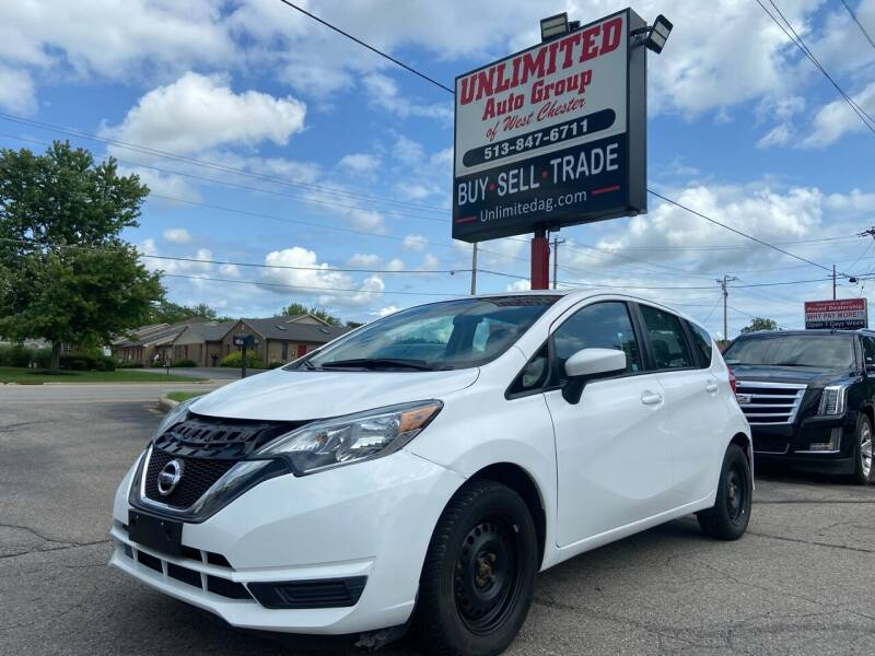 2018 Nissan Versa Note for sale at Unlimited Auto Group in West Chester OH