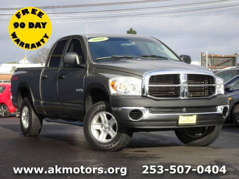 2008 Dodge Ram Pickup 1500 for sale at AK Motors in Tacoma WA