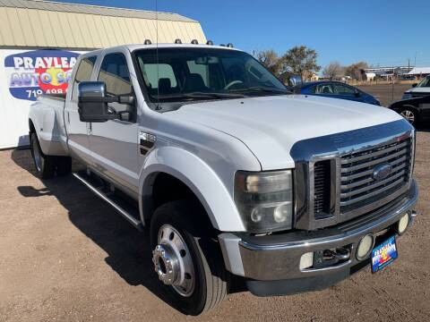 2010 Ford F-450 Super Duty for sale at Praylea's Auto Sales in Peyton CO