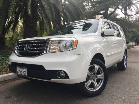 2012 Honda Pilot for sale at Valley Coach Co Sales & Lsng in Van Nuys CA