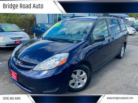 2007 Toyota Sienna for sale at Bridge Road Auto in Salisbury MA