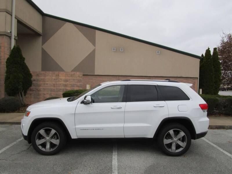 2015 Jeep Grand Cherokee for sale at JON DELLINGER AUTOMOTIVE in Springdale AR