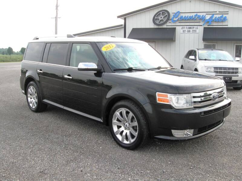 2012 Ford Flex for sale at Country Auto in Huntsville OH