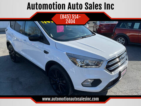 2018 Ford Escape for sale at Automotion Auto Sales Inc in Kingston NY