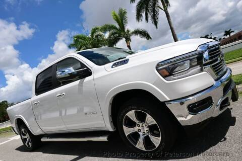 2019 RAM Ram Pickup 1500 for sale at MOTORCARS in West Palm Beach FL