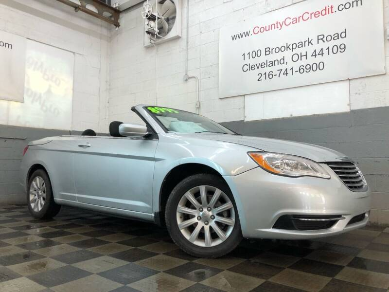 2011 Chrysler 200 Convertible for sale at County Car Credit in Cleveland OH
