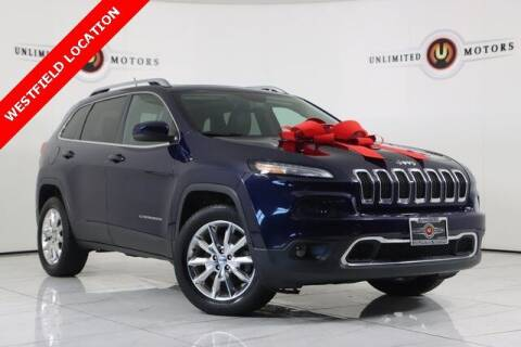 2015 Jeep Cherokee for sale at INDY'S UNLIMITED MOTORS - UNLIMITED MOTORS in Westfield IN