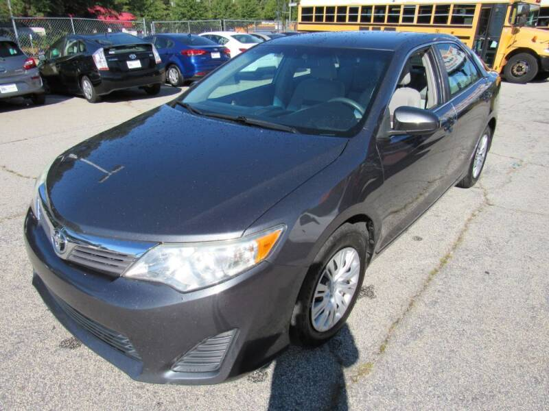 2012 Toyota Camry for sale at King of Auto in Stone Mountain GA