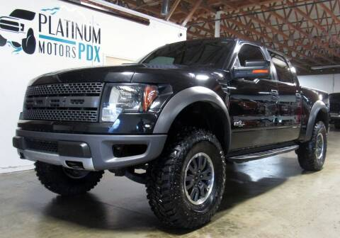 2011 Ford F-150 for sale at Platinum Motors in Portland OR