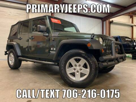 2008 Jeep Wrangler Unlimited for sale at Primary Auto Group in Dawsonville GA