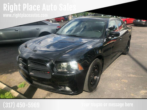 2013 Dodge Charger for sale at Right Place Auto Sales in Indianapolis IN