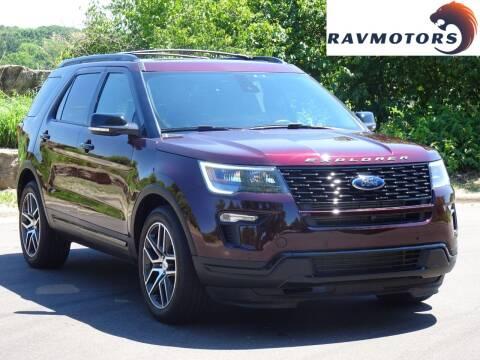 2019 Ford Explorer for sale at RAVMOTORS in Burnsville MN