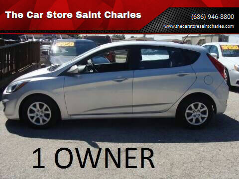 2014 Hyundai Accent for sale at The Car Store Saint Charles in Saint Charles MO