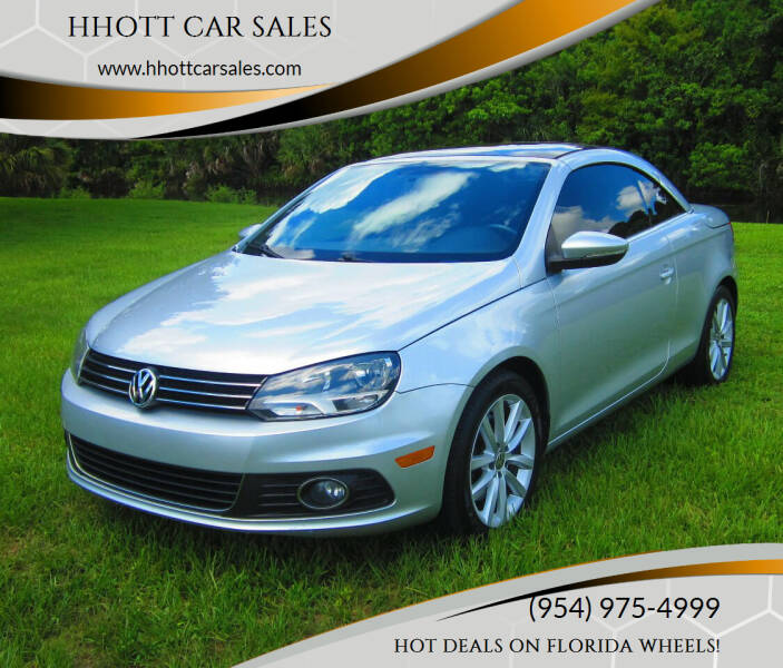 2012 Volkswagen Eos for sale at HHOTT CAR SALES in Deerfield Beach FL