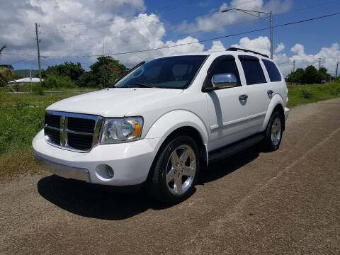 2009 Dodge Durango for sale at Cruzan Car Sales in Frederiksted VI