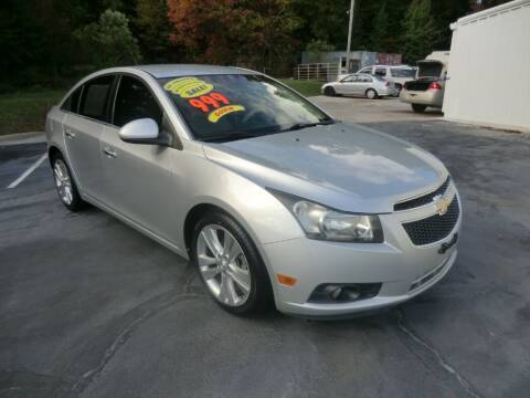 2012 Chevrolet Cruze for sale at Glory Motors in Rock Hill SC