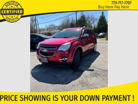 2013 Chevrolet Equinox for sale at AutoBank in Chicago IL