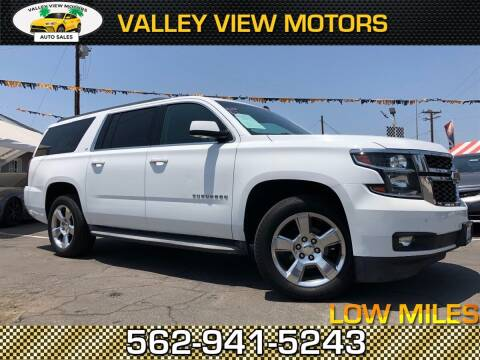 2015 Chevrolet Suburban for sale at Valley View Motors in Whittier CA