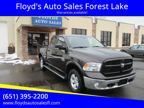 2016 RAM Ram Pickup 1500 for sale at Floyd's Auto Sales Forest Lake in Forest Lake MN