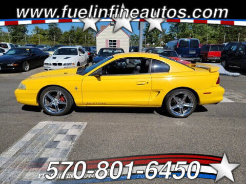 1998 Ford Mustang for sale at FUELIN FINE AUTO SALES INC in Saylorsburg PA