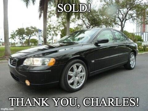 2006 Volvo S60 for sale at VehicleVille in Fort Lauderdale FL