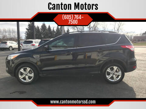 2013 Ford Escape for sale at Canton Motors in Canton SD