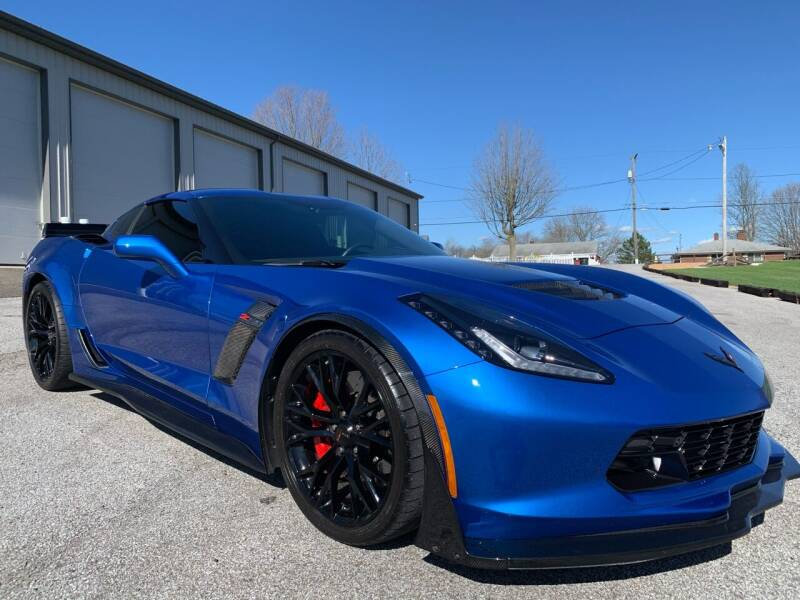2016 Chevrolet Corvette for sale at G & G Auto Sales in Steubenville OH
