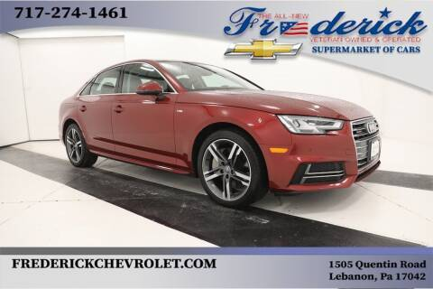 2018 Audi A4 for sale at Lancaster Pre-Owned in Lancaster PA