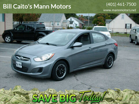 2014 Hyundai Accent for sale at Bill Caito's Mann Motors in Warwick RI