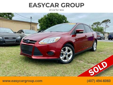 2013 Ford Focus for sale at EASYCAR GROUP in Orlando FL