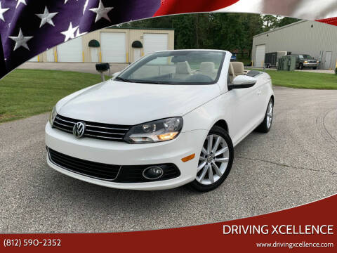 2014 Volkswagen Eos for sale at Driving Xcellence in Jeffersonville IN