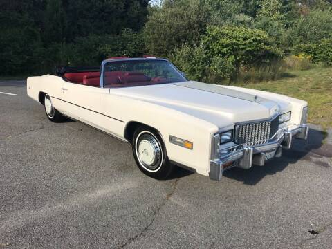 1976 Cadillac Eldorado for sale at Clair Classics in Westford MA