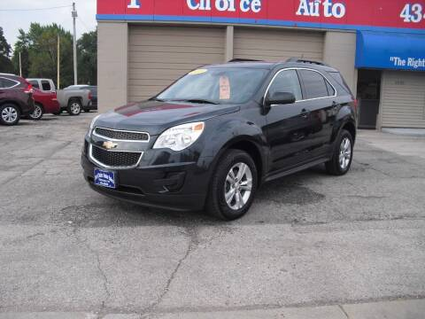 2015 Chevrolet Equinox for sale at 1st Choice Auto Inc in Green Bay WI
