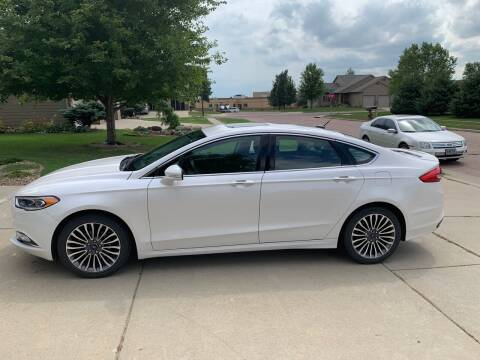 2017 Ford Fusion for sale at RMI in Chancellor SD