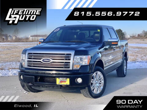 2012 Ford F-150 for sale at Lifetime Auto in Elwood IL