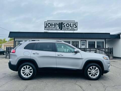 2019 Jeep Cherokee for sale at John Solis Automotive Village in Idaho Falls ID