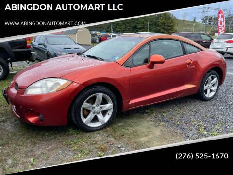 2007 Mitsubishi Eclipse for sale at ABINGDON AUTOMART LLC in Abingdon VA