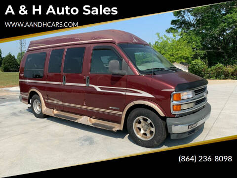 2000 Chevrolet Express Cargo for sale at A & H Auto Sales in Greenville SC