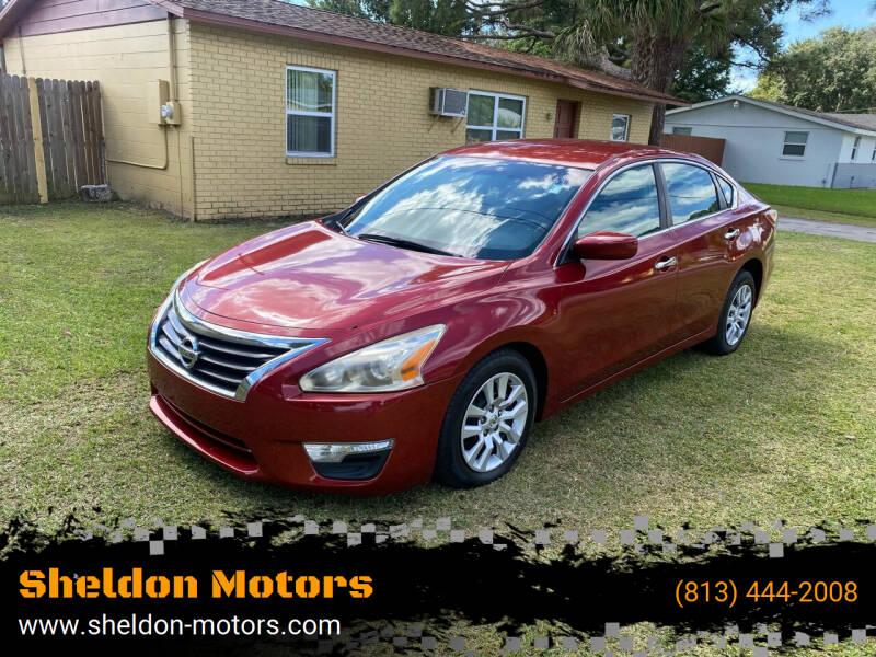 2013 Nissan Altima for sale at Sheldon Motors in Tampa FL