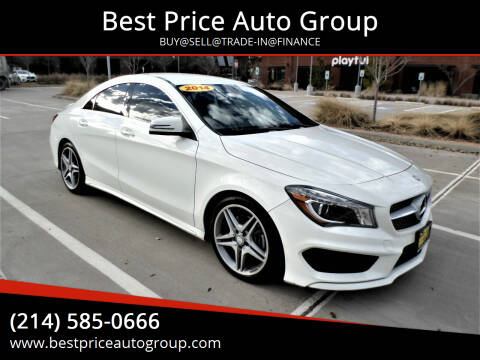 2014 Mercedes-Benz CLA for sale at Best Price Auto Group in Mckinney TX