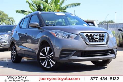 2019 Nissan Kicks for sale at Joe Myers Toyota PreOwned in Houston TX