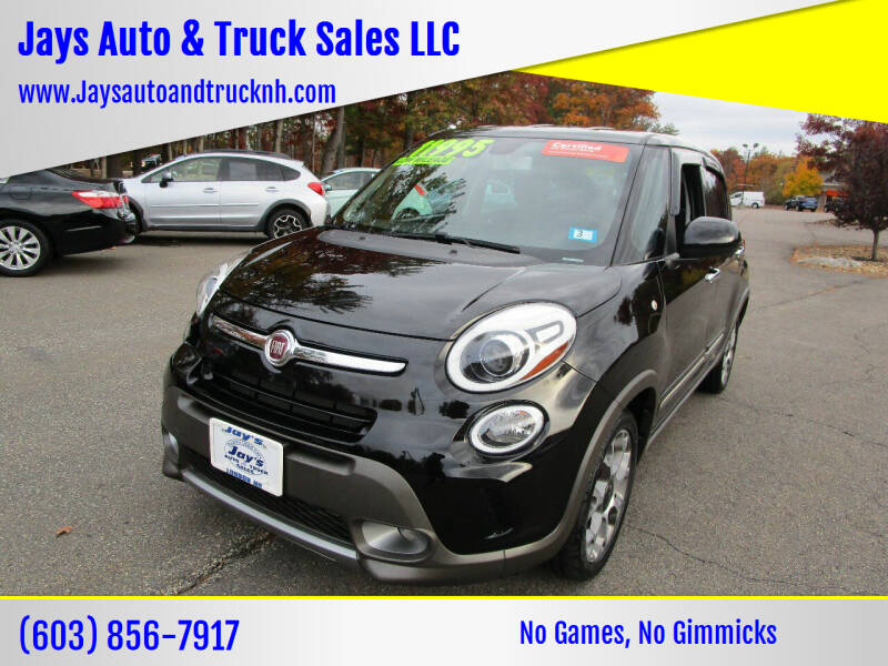 2015 FIAT 500L for sale at Jays Auto & Truck Sales LLC in Loudon NH