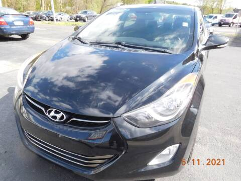 2012 Hyundai Elantra for sale at Southbridge Street Auto Sales in Worcester MA