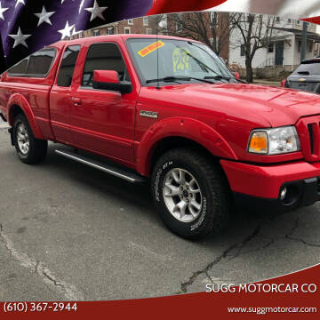 2011 Ford Ranger for sale at Sugg Motorcar Co in Boyertown PA