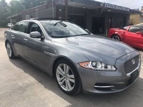 2012 Jaguar XJL for sale at Texas Luxury Auto in Houston TX